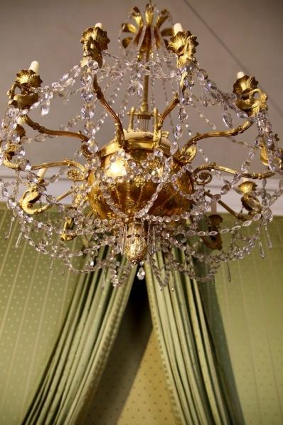 В една от спалните на Мюнхенската резиденция.
