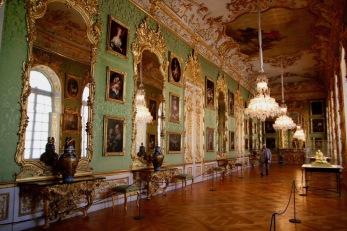Зелената галерия в Мюнхенската резиденция.