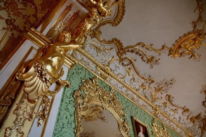 Детайли от Зелената галерия в Мюнхенската резиденция.