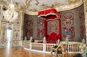 Една от кралските спални в Мюнхенската резиденция.