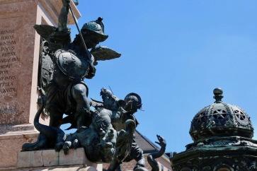 Склуптура пред кметството на Мюнхен.