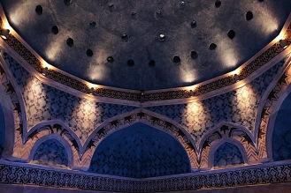 Декорацията на купола.