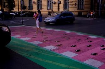 Кръстовището на ул.Г.С.Раковски и ул.Иван Вазов