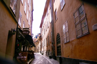 Из малките улички на стария град.