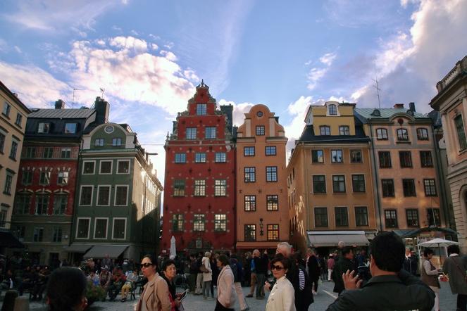 Площад Сторторгет в стария град.