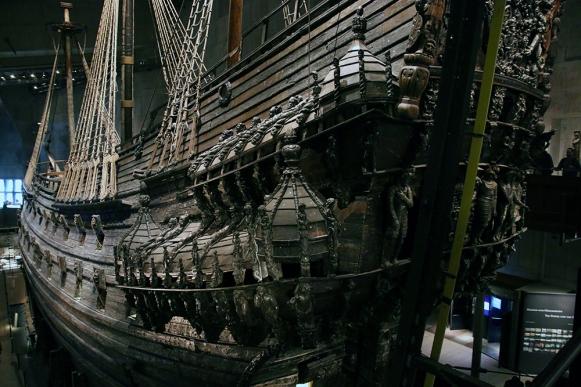Кораба Васа в едноименният музей.