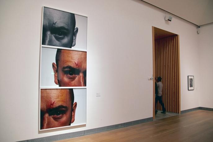В музея за модерно изкуство.