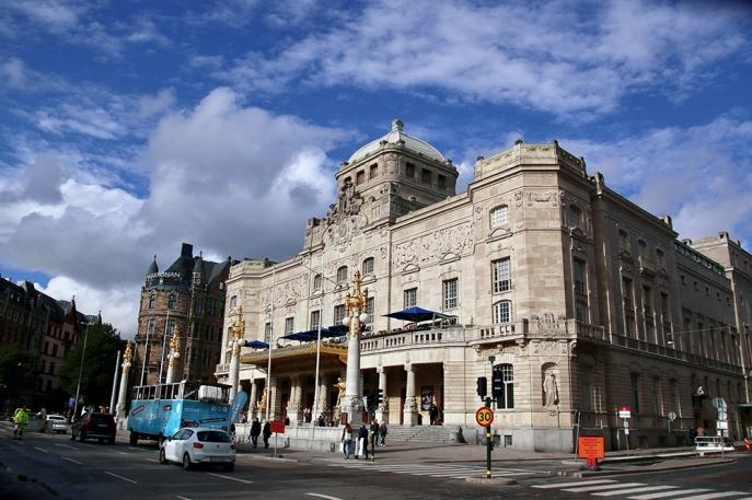 Кралският драматичен театър.