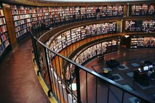 Градската библиотека на Стокхолм.