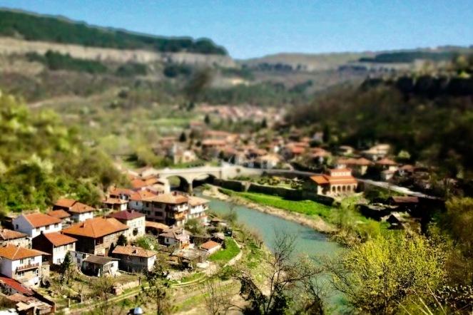 Панорама от Велико Търново