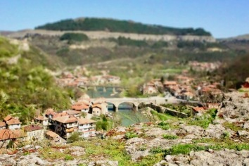 Панорама от крепостта Царевец