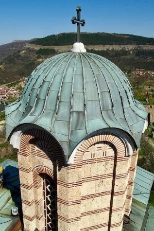 Изглед от камбанарията на патриаршеската катедрала Св. Възнесение Господне