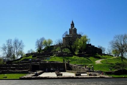 Патриаршеската катедрала Св. Възнесение Господне на хълма Царевец