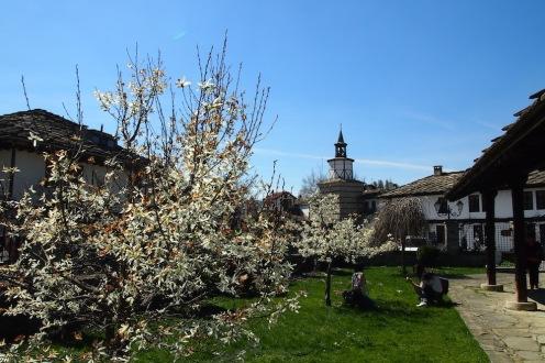 В двора на църквата Св.Архангел Михаил