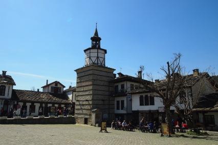 Часовниковата кула в Трявна