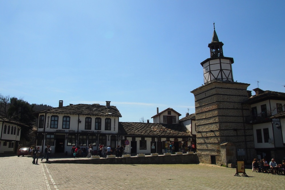 Централният площад Кап.Дядо Николов