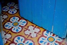 Цветовете зад вратата.