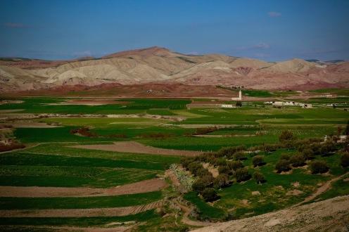Цветовете на Мароко.