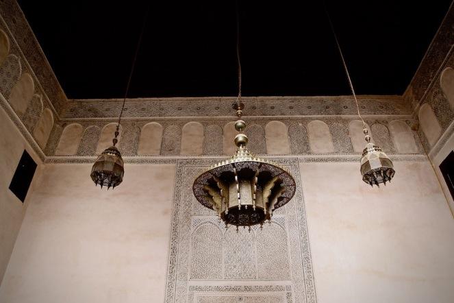 Джамията в мадраса Бу Инания, Фес.