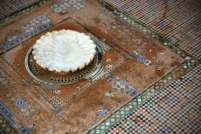 Фонтанът в мадраса Бу Инания, Фес.