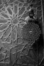 Портата на мадраса Бу Инания, Фес.