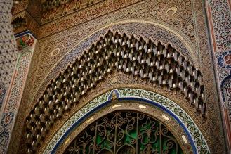 Една от портите на мавзолеят на Мулай Идрис II.