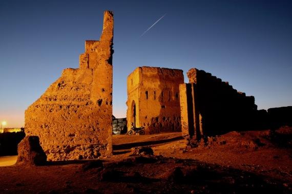 Останки от гробниците Маринид.