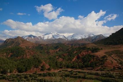 Пейзаж във високия Атлас.