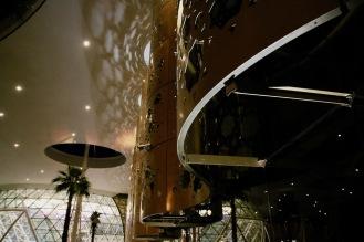 Архитектурен детайл от летище Менара.