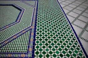 Дворецът Бахия е един от шедьорите на мароканската архитектура.