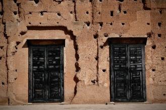 Останките от двореца Ел Бади.
