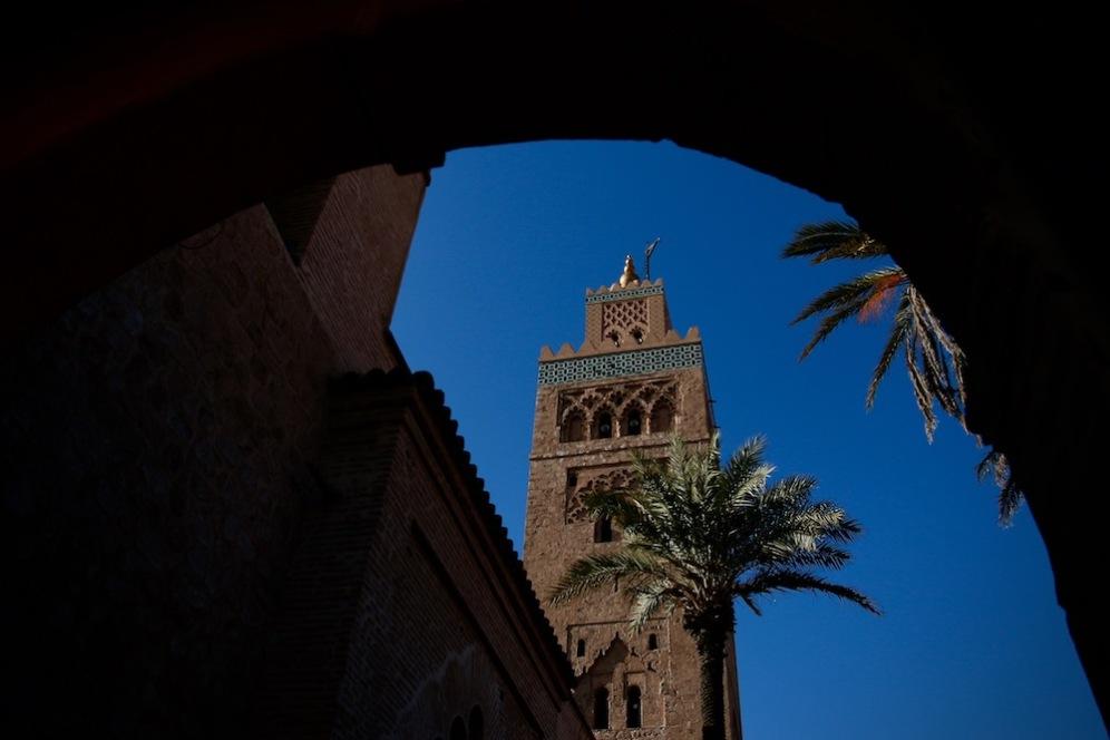 Джамията Кутубия е най-голямата в Маракеш.