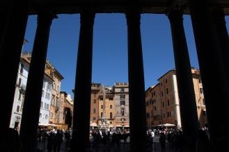 Гледка от Пантеона.