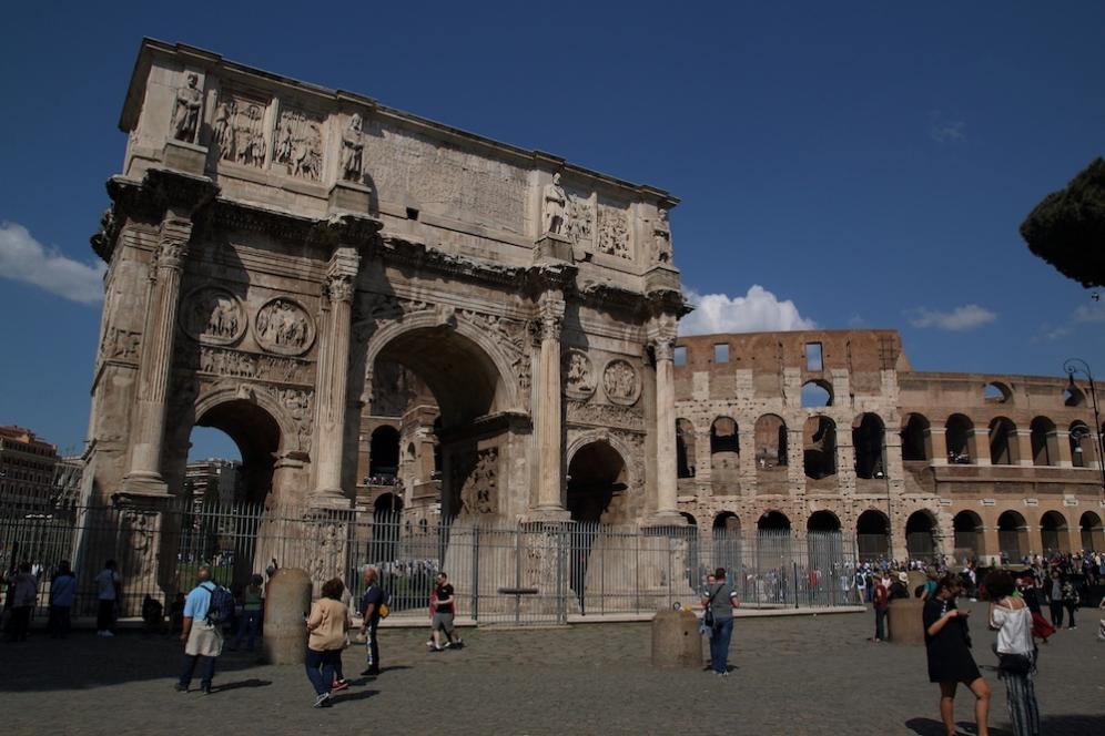 Арката на Константин.