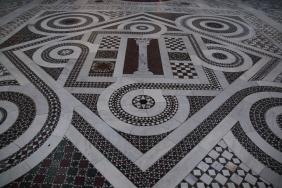 Фрагмент от мозайката в Сан Джовани ин Латерано.
