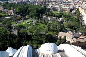 Градината на Ватикана.