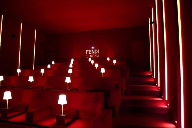 Кино FENDI, част от интерактивната изложба.