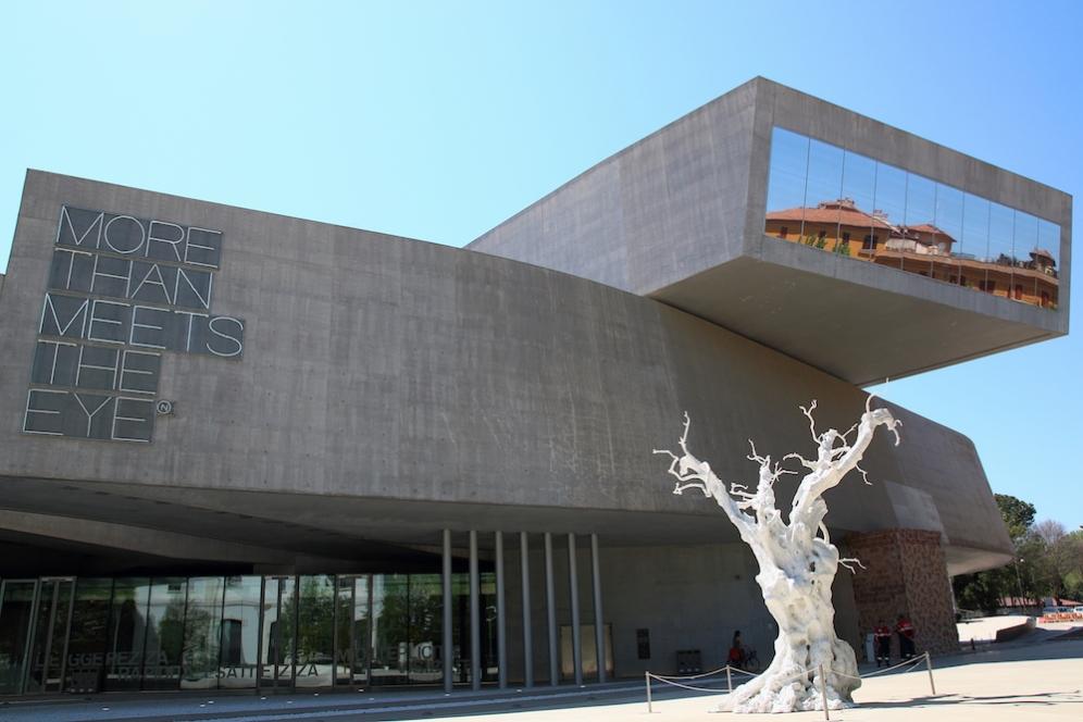 MAXXI – Националният музей на изкуствата от XXI век.
