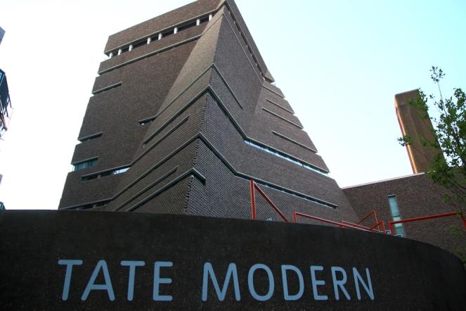 Новата сграда Blavatnik наTATE Modern.