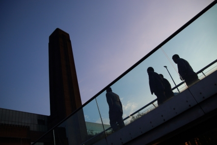 Галерия TATE Modern и моста Millennium.