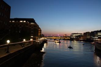 Свтлините по Темза.