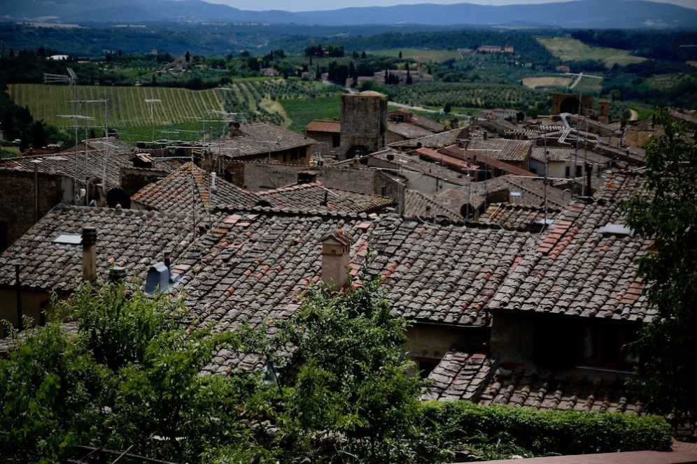 Гледка от една от панорамните площадки.