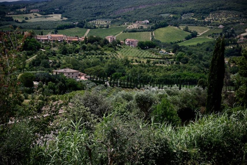 Чарът на Тоскана.