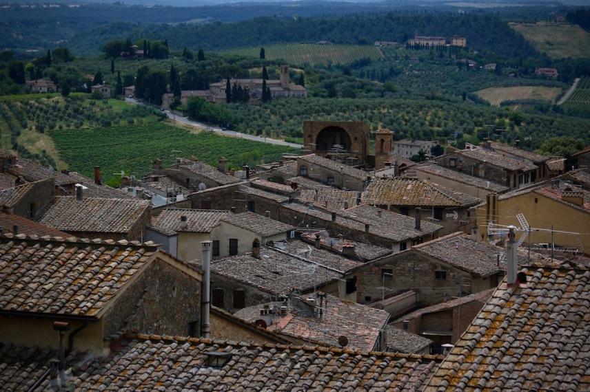 Покривите на Сан Джиминяно.