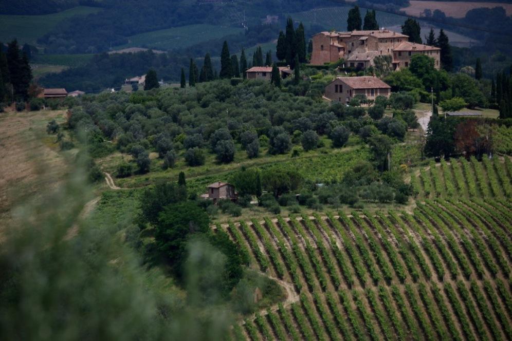 Тоскански пейзаж.