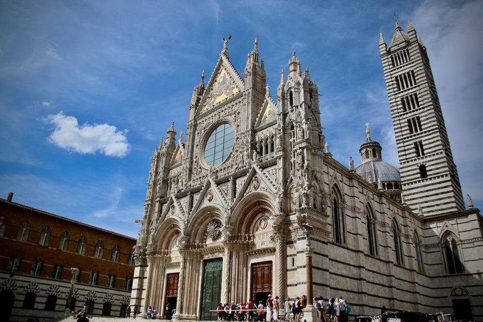 Катедралата на Сиена - Санта Мария Асунта.