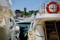 Блясъкът на луксозните яхти.