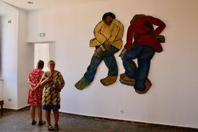 Модерно изкуство в музея Пикасо.