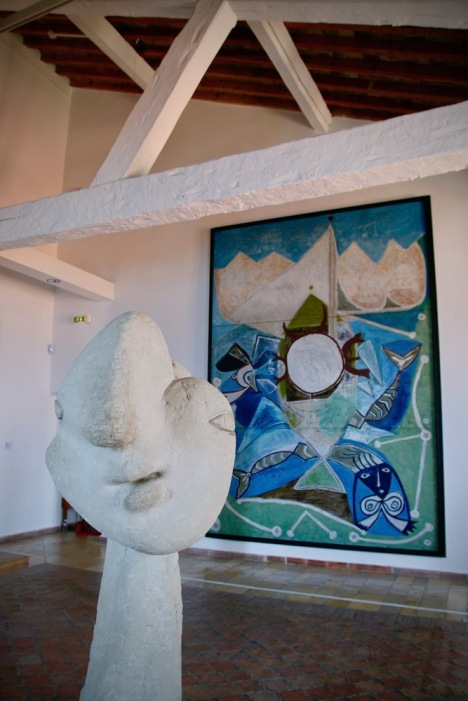 Музея Пикасо в Антиб.