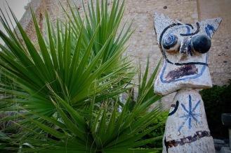 Скулптура на Хуан Миро в музея Пикасо.